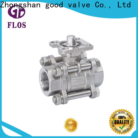 FLOS Top 3-piece ball valve for business for opening piping flow