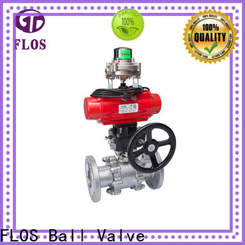 FLOS openclose three piece ball valve Supply for directing flow