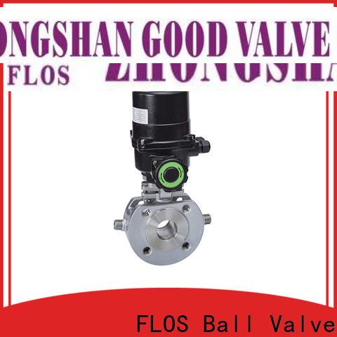 FLOS highplatform uni-body ball valve manufacturers for directing flow