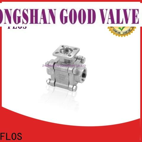 FLOS New 3-piece ball valve for business for closing piping flow