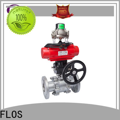 Latest 3 piece stainless steel ball valve pneumatic manufacturers for opening piping flow
