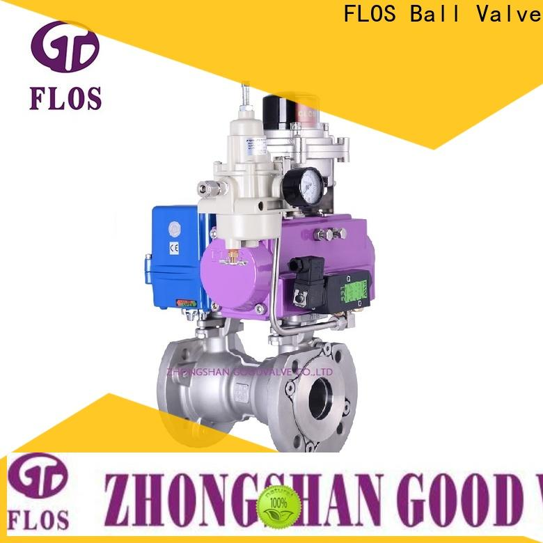 FLOS Wholesale 1 pc ball valve company for closing piping flow