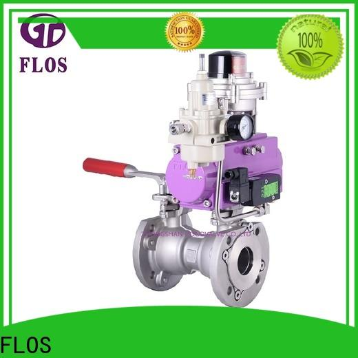FLOS carbon uni-body ball valve Supply for directing flow