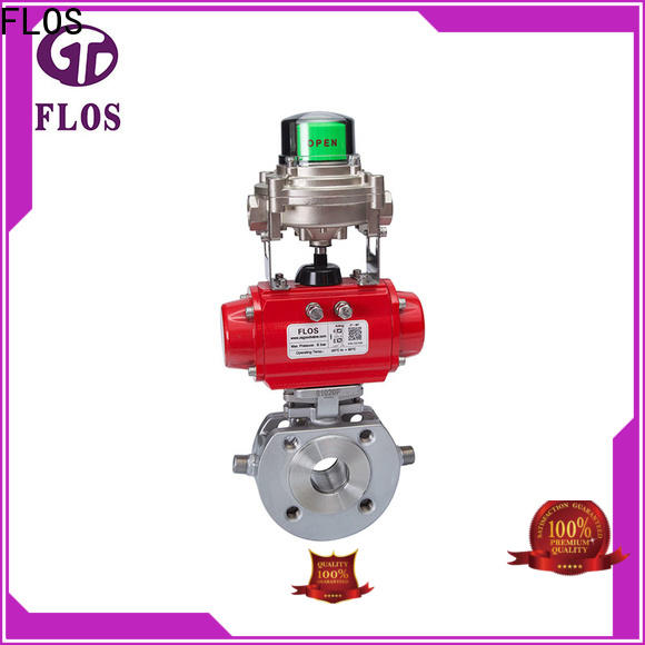 FLOS Best 1 piece ball valve company for opening piping flow