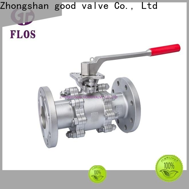 FLOS Best 3 piece stainless steel ball valve Supply for opening piping flow
