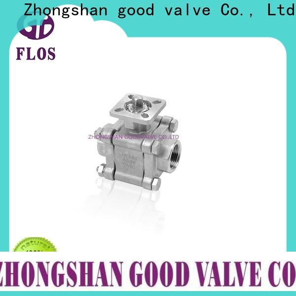 FLOS switch three piece ball valve Suppliers for opening piping flow