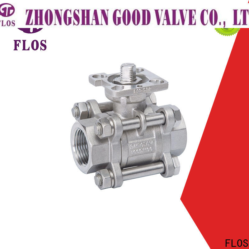 FLOS Best stainless valve for business for opening piping flow