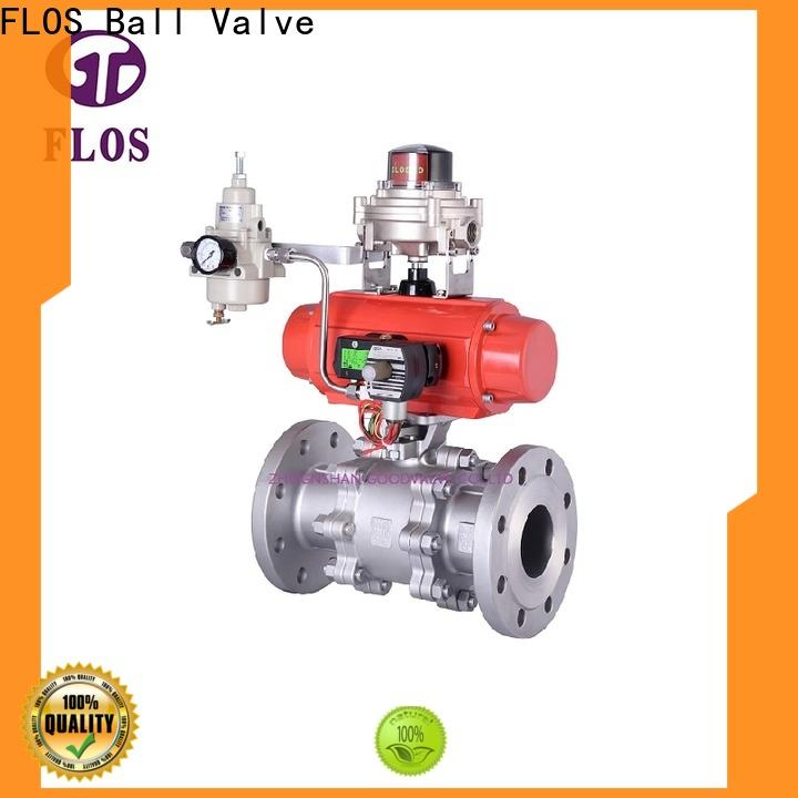 FLOS valvethreaded 3-piece ball valve manufacturers for directing flow