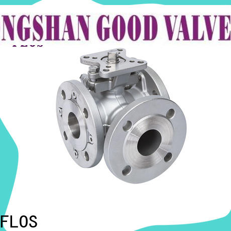 FLOS New three way ball valve suppliers for business for closing piping flow