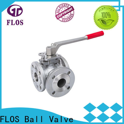 Best 3 way flanged ball valve double for business for opening piping flow