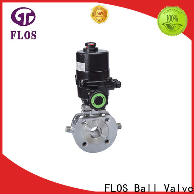 FLOS ball valves Suppliers for opening piping flow
