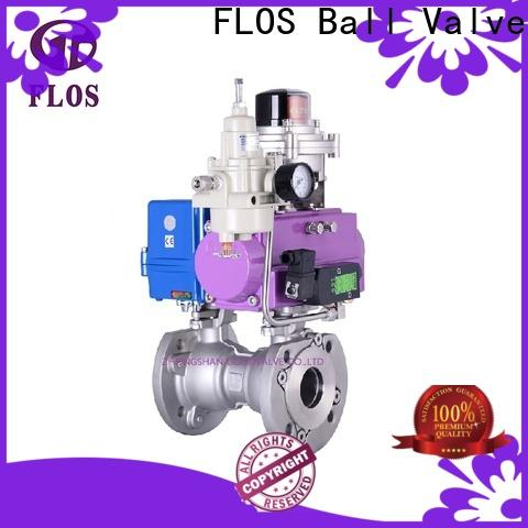 FLOS threaded one piece ball valve factory for closing piping flow