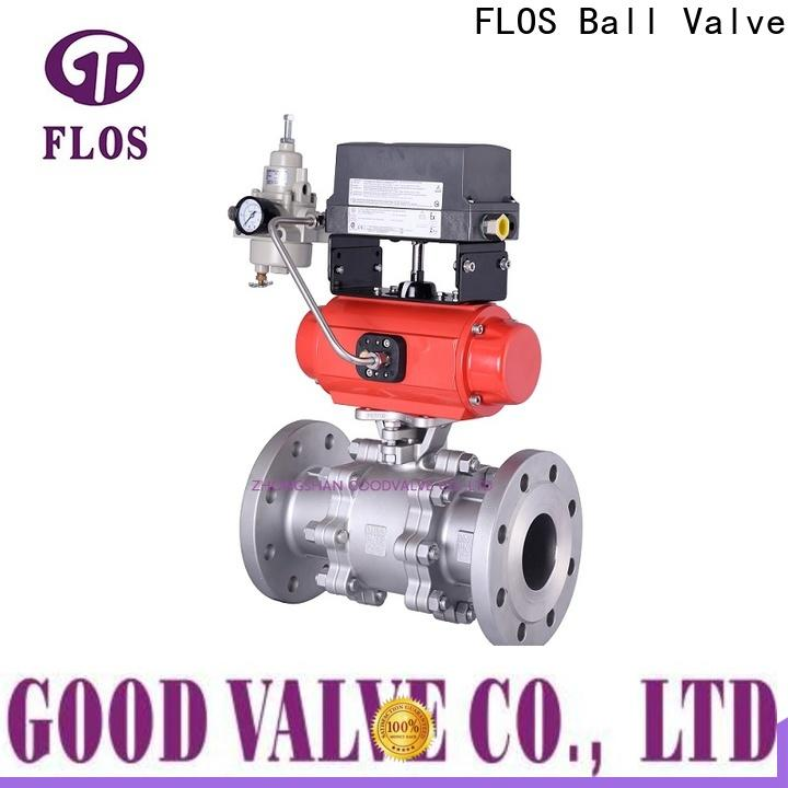 High-quality stainless valve flanged for business for opening piping flow