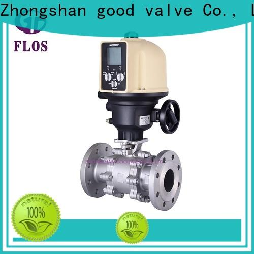 FLOS openclose 3 piece stainless ball valve company for closing piping flow