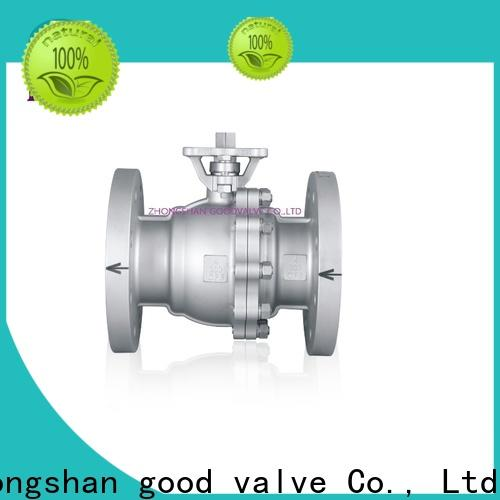 High-quality two piece ball valve switchflanged manufacturers for closing piping flow