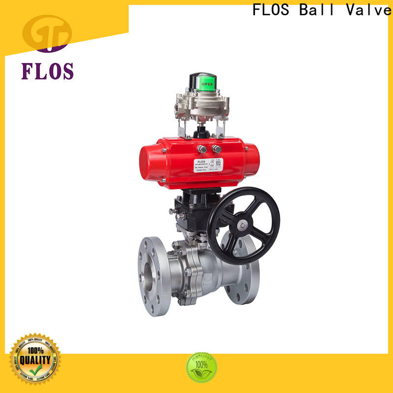 FLOS High-quality stainless steel valve manufacturers for closing piping flow