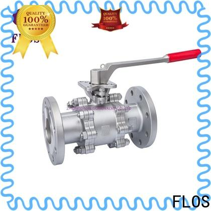 FLOS Best 3 piece stainless steel ball valve for business for directing flow