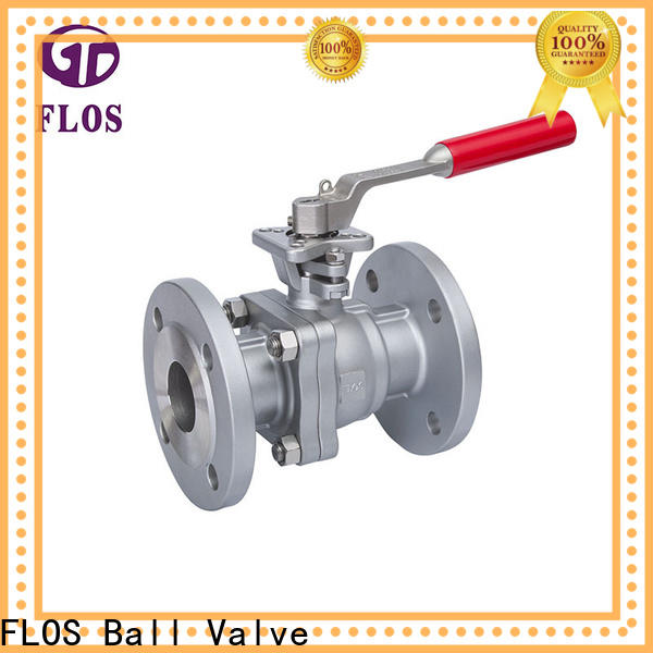 FLOS Top 2-piece ball valve factory for directing flow