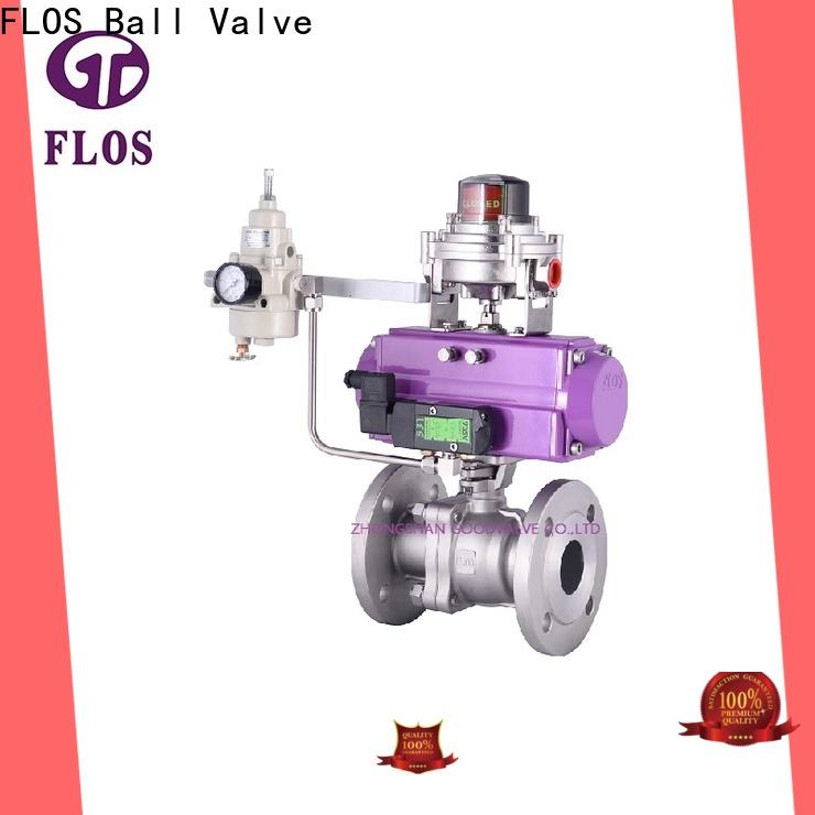 FLOS position stainless steel ball valve manufacturers for directing flow