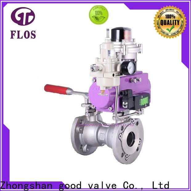FLOS Wholesale single piece ball valve for business for closing piping flow