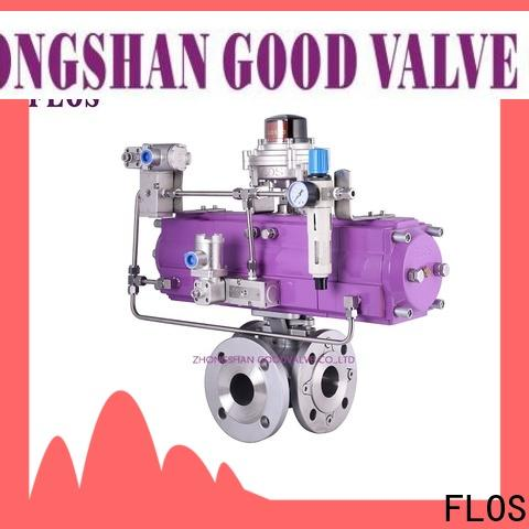 FLOS flanged end ball valve Supply