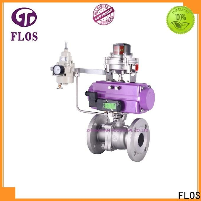 FLOS Latest flanged valve manufacturers