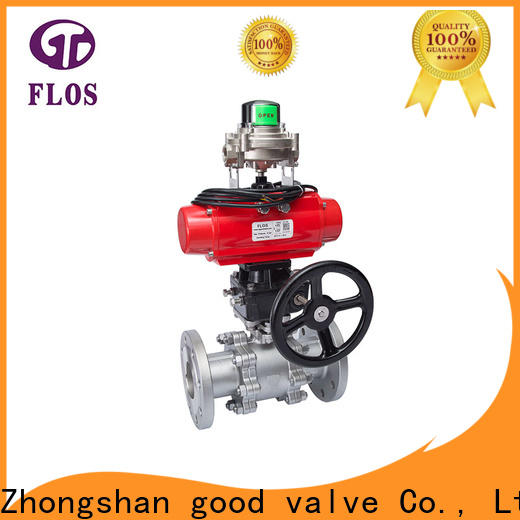 FLOS 3 piece stainless steel ball valve factory
