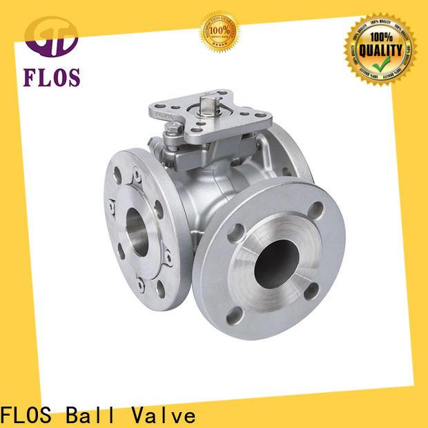 FLOS pneumatic 3 way ball valve company
