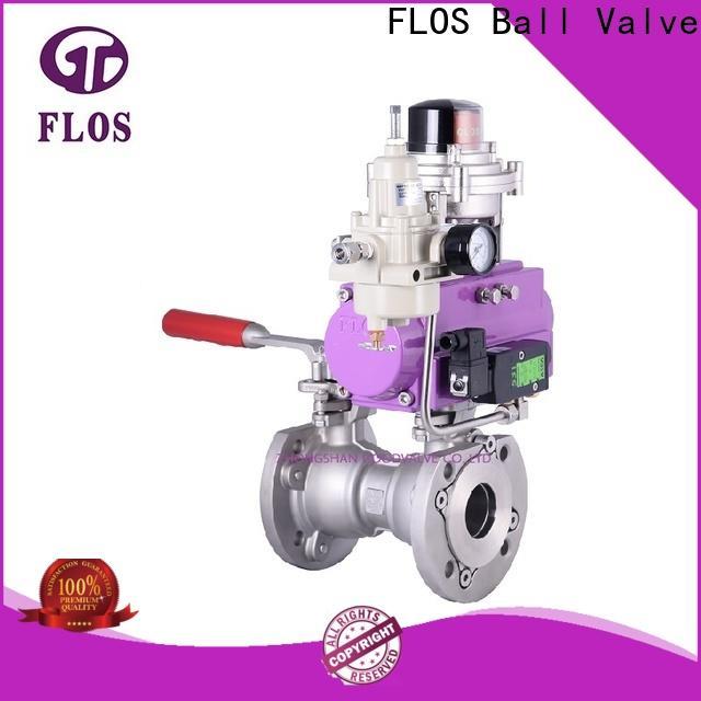 FLOS single piece ball valve Suppliers