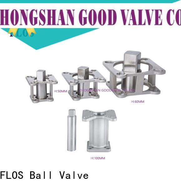 FLOS ball valve mounting bracket factory