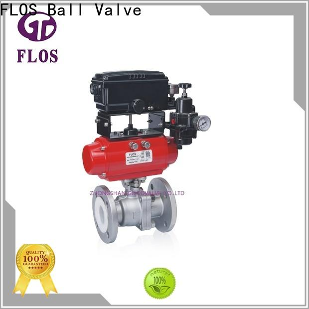 FLOS stainless steel ball valve factory