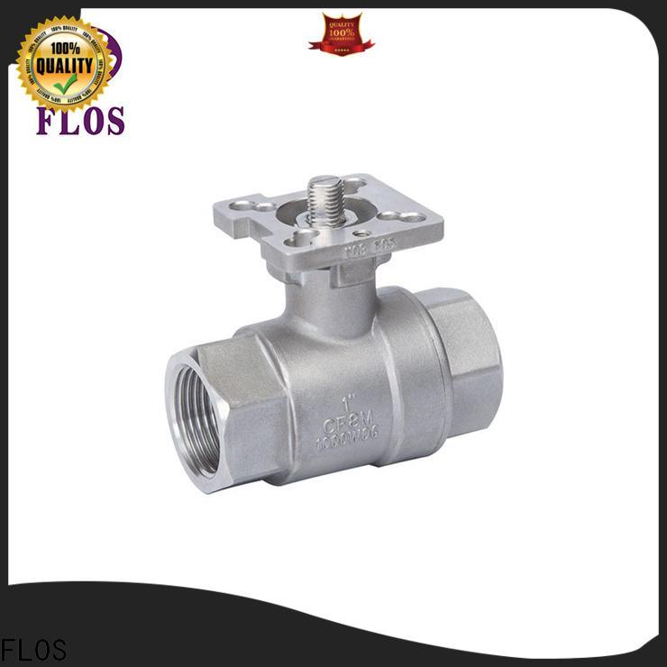 FLOS Best flanged valve Supply