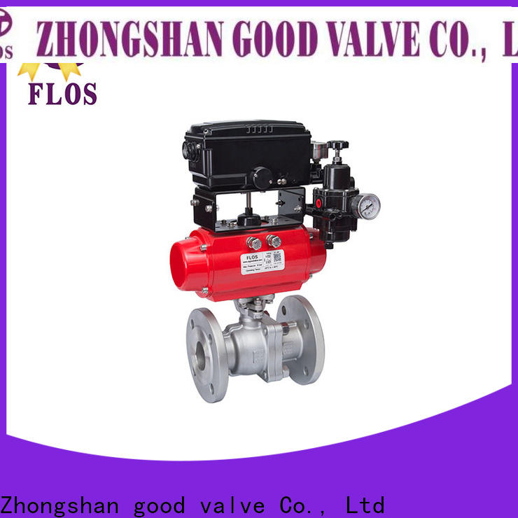 FLOS Top 2 piece stainless steel ball valve Supply