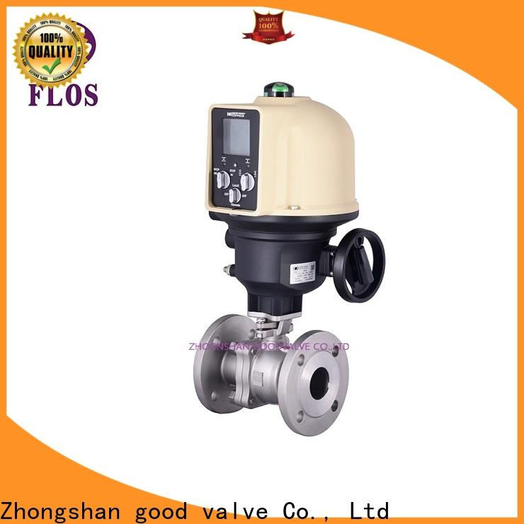 FLOS Top flanged ball valve Supply