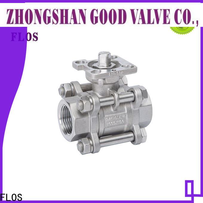FLOS three piece valve factory